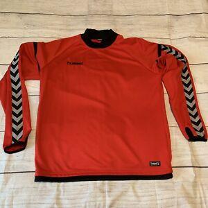 Hummel Authentic Red Size Medium Long Sleeve Shirt