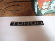 Sigle insigne logo plastique TURBO pour citroen peugeot ou autres