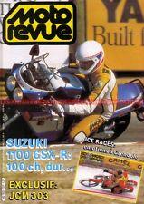 MOTO REVUE 2737 SUZUKI GSXR 1100 GSX-R HONDA NXR KTM 240 GS HARLEY DAVIDSON XR