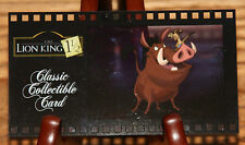 Disney Classic Collectible Card NO.138 Lion King Cell Card Pumbaa