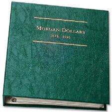 Littleton LCA8 Morgan Dollar Album Volume #1 1878-1891 ARCHIVAL QUALITY