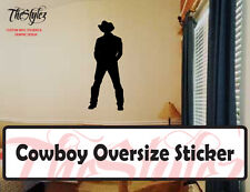 Cowboys and Cowgirls Vinyl Stickers