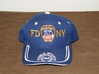 BASEBALL CAP HAT FDNY FIRE DEPT CITY OF NEW YORK WORLD SPORTS USA  NEW UNUSED