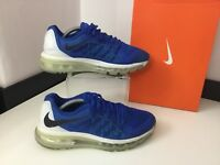 Nike Air Max 2015 Trainers, Uk 5 Eu38, Blue & White, Men's, Vgc