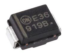 10 x ON Semiconductor 1SMB5919BT3G Zener Diode, 5.6V 5% 3 Watt SM 2-Pin SMB