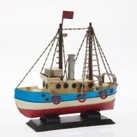 Schiff Dampfer Boot Yacht Kutter Metall Modell Badezimmer Maritim Deko modern 1a