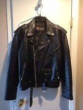 """XELEMENT"" MEN'S LEATHER JACKET DISTRESSED MOTORCYCLE ACCESSORIES MERCHANDISE"