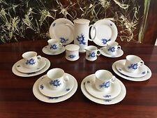 HUTSCHENREUTHER Scala Blaue Blume - edles 21 teiliges Kaffeeservice für 6 Pers