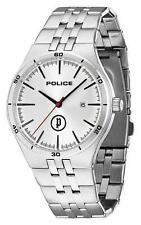 POLICE Watch 14440JS/04M Mens Stainless Steel Bracelet Date RRP£129