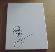 Greg Nicotero zombie sketch w/sig 11x14 canvas The Walking Dead exact proof