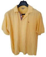 Mens chic LONDON by BURBERRY short sleeve polo shirt size large. RRP£165.