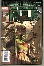 Incredible Hulk #100-2007 vf- STANDARD cover Giant-Size Planet Hulk / Allegiance