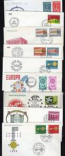 EUROPA 1957-80's COLLECTION OF 22 EUROPA COVERS INLCUDING CONSEIL DE L'EUROPE