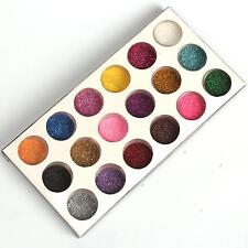 18 Pcs Mix Colors Glitter Powder Dust for Acrylic Nail Art Decoration Tips Set