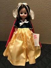 "Vintage Madame Alexander Doll 14"" Snow White 1455 Disney Crest Colors Sleep Eyes"