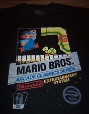 VINTAGE STYLE ORIGINAL MARIO BROS NES BOX Nintendo T-Shirt ARCADE 4XL XXXXL NEW