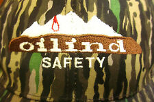 OILIND SAFETY camouflage baseball hat Airgas welding construction cap embroidery
