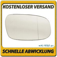 Spiegelglas für VOLVO C30 2006-2010 rechts Beifahrerseite asphärisch