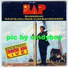 "BAP Shanghai 3 trk Single Maxi 3"" Mini CD RAR Keine Promo"