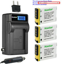 Kastar Battery LCD AC Charger for Kodak KLIC-7003 & Kodak EasyShare Z950 Camera