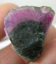 79.40ct Afghan 100% Natural Watermelon Tourmaline Crystal Specimen 15.85g 27mm