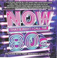 Now That's What I Call the 80s by Various Artists (CD, Mar-2008, Sony Music Dis…