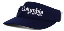 Columbia PFG Navy Stretch Fit Visor Cap Hat Size L/XL