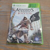 Xbox 360 Assassin's Creed IV Black Flag - CIB COMPLETE Factory SEALED Ubisoft
