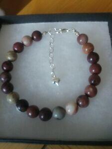 New Apache Jasper Gemstone Bracelet