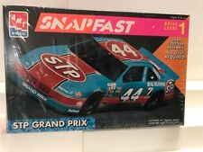 Used 1/32 scale AMT/ERTL SNAPFAST STP Grand Prix model kit ,no glue required