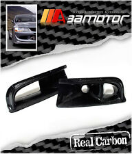 Carbon Fiber Front Bumper Air Intake Ducts for Mitsubishi Evolution VIII EVO 8