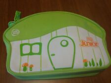 Leap Frog Tag Junior Reader & 4 Books Green Pup w/ Carrying Case