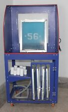 Quick Clean Screen Printing Wash Tank Vertical Rinse Table Washout Booth Light
