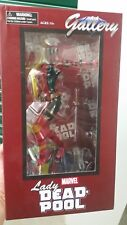 Marvel Gallery Lady Deadpool statue Diamond Select PVC Figure Comics NEW MIB