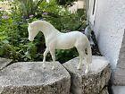 Breyer Horse Factory Escapee Unpainted Blank Foundation Stallion White Plastic