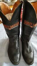 Womens Harley Davidson Cowboy Motorcycle Boots 8