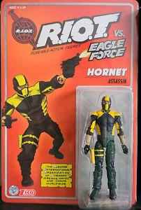 "Eagle Force Returns Kickstarter 4"" Action Figure Series 01 - Hornet"