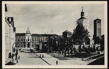 cartolina MILANO piazza s.ambrogio,famedio dei caduti e università cattolica