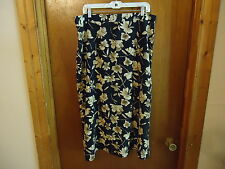 "Womens More Promises Size 22 W Floral Skirt "" BEAUTIFUL SKIRT """