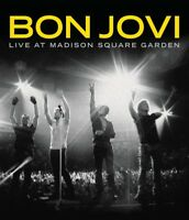 BON JOVI - LIVE AT MADISON SQUARE GARDEN Blu-Ray w/BONUS Documentary ~ JON *NEW*