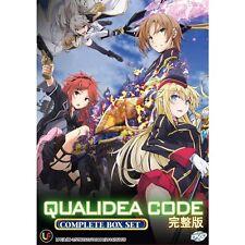 Qualidea Code Vol. 1-12 end Japanese Anime DVD English Subtitles