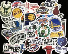 30 pcs NBA Basketball Club Logo Sticker Decals for Skateboard Luggage Laptop