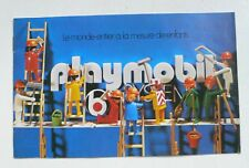 Vintage PLAYMOBIL Klicky France 1975 Booklet 12 Page Catalog Catalogue Katalog