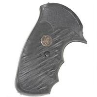 Pachmayr 03175 Gripper Grip Ruger Security Six Black Rubber
