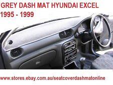 GREY DASH MAT, DASHMAT, DASHBOARD COVER FIT HYUNDAI EXCEL 1995 - 1999, GREY