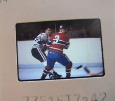 J C TREMBLAY Montreal Canadiens CLIFF KOROLL CHICAGO BLACK HAWKS SLIDE 8