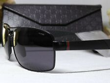 Gucci GG2234S Polarized Navigator Semi-Matte Black Frame Sunglasses 63 14 130***