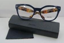 40726447709 PRADA Blue 51 mm - 60 mm Lens Socket Width Eyeglass Frames
