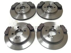 MINI R56 ONE COOPER D 1.6 2006-2013 FRONT AND REAR BRAKE DISCS AND PADS SET