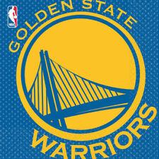 NBA GOLDEN STATE WARRIORS LUNCH NAPKINS (16) ~ Birthday Party Supplies Serviette